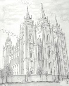 A Pocket full of LDS prints: Utah Temples