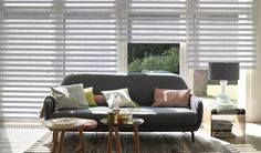 Disponible en @Latorre Decoración y http://latorredecoracion.com/cortina-tecnica/ Luxaflex® Facette® Shades