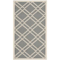 You'll love the Courtyard Anthracite/Beige Outdoor Rug at Wayfair - Great Deals on all Décor  products with Free Shipping on most stuff, even the big stuff.