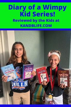 Kinley and Brecken from K and B Life have read them all now and want to share their thoughts with you so you can decide if they are good fit books for you, your kids and/or students. They also share their favorite titles from the series for you. Read the Book Review on the Diary of a Wimpy Kid Series now! Good Fit Books, Wimpy Kid Series, Wimpy Kid Books, Book Reviews For Kids, Middle Schoolers, Dear Diary, Love Book, Really Funny, New Books