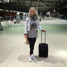 Airport style, travel style, converse chuck taylors Airport Outfits, Airport Style, Punta Cana Vacations, Distressed Denim, Travel Style, Chuck Taylors, My Outfit, Converse Chuck Taylor, Amanda