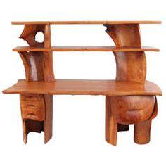 Scott Jaster Studio Organic Carved Desk