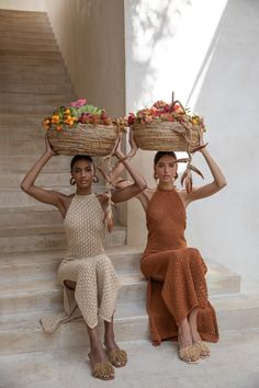 Karen Cotton-Blend Pointelle-Knit Midi Dress by Cult Gaia Look Fashion, Fashion Beauty, Knit Fashion, Girl Fashion, Mode Outfits, Fashion Outfits, Fashion Tips, Mode Ootd, Bleach Tie Dye