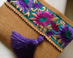 Bohemian Clutch, ethnic clutch, boho bag, clutch purse, women handbag, handmade…