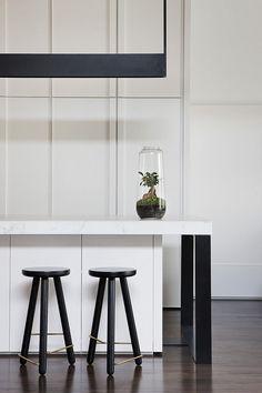 Melbourne townhouse with impressive modern arrangements