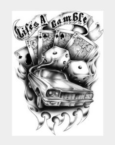 Life's a gamble design