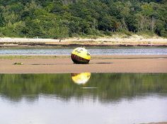 One of the Buoys in the Entrance to Bembridge Harbour marking out the shallow water. Bembridge Isle Of Wight, Ile De Wight, Shallow, Olympus, Trekking, The Past, Island, Water, Gripe Water