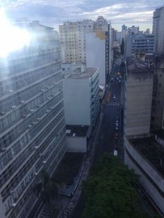 Curitiba centro- do alto do 13º andar.