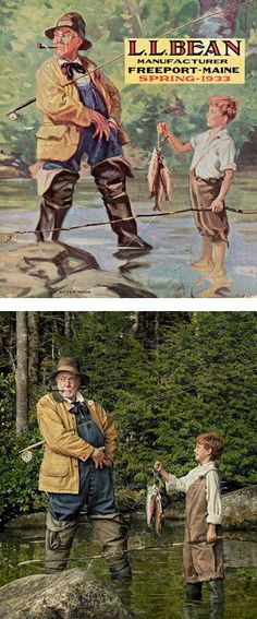 L l bean on pinterest outdoor life fishing and hunting for Ll bean fishing