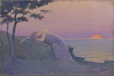 La muse endormie von Alphonse Osbert