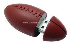 Silicone American Football shape USB Disk