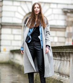 The Latest Street Style Photos From London Fashion Week via @WhoWhatWear @LGGC @DEJA