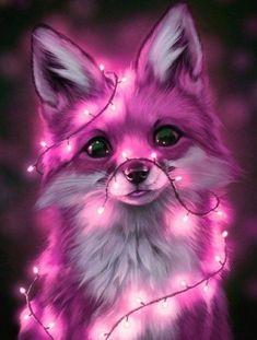 Anime Wolf, Pet Anime, Anime Animals, Anime Kawaii, Wolf Wallpaper, Cute Wallpaper Backgrounds, Animal Wallpaper, Drawing Wallpaper, Galaxy Wallpaper