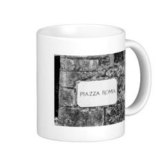 Piazza Roma Coffee Mugs - $17.95