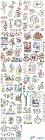 Les Brodeuses Parisiennes-La grande histoire de l'ouvrage - Мобильная версия - www.pindiy.com