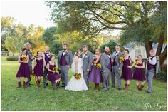 Ashelynn Manor Wedding Party / Kasey Lynn Photography