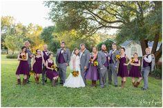 Ashelynn Manor Wedding Party / Kasey Lynn Photography