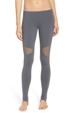 Alo 'Coast' Mesh Inset Stirrup Leggings available at #Nordstrom