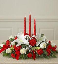 composizioni floreali natalizie - Recherche Google