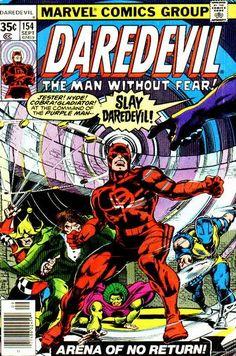 Daredevil # 154 by Gene Colan & Steve Leialoha