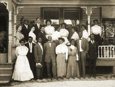 Utica Faculty 1908-1909 :: Hinds Community College