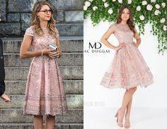 Kara: Pink Embellished Dress – Arrow Fashion Blog