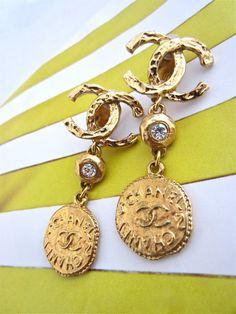 Chanel Vintage OMG love earrings!!