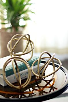 Gold is one of the hottest trends in home décor for 2014, adding a touch of…