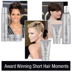 Short hair was in the spotlight at the Oscars. Here are our picks!