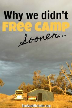 These are the reasons why we didn't free camp sooner. I'm telling you these so that you can hopefully avoid these pitfalls and enjoy free camping Australia as soon as possible. Road Trip Hacks, Camping Hacks, Van Camping, Camping Meals, Western Australia, Australia Travel, Visit Australia, Travel Hack, Travel Tips