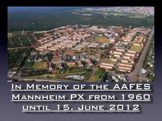 ▶ AAFES Mannheim PX - YouTube. All closed down.
