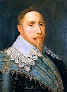 Gustavus Adolphus of Sweden (9 December 1594 – 6 November 1632)