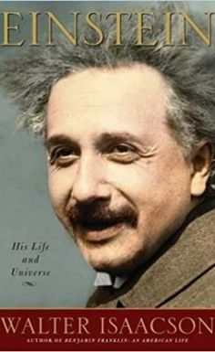 """Read """"Einstein His Life and Universe"""" by Walter Isaacson available from Rakuten Kobo. By the author of the acclaimed bestsellers Benjamin Franklin and Steve Jobs, this is the definitive biography of Albert . Good Books, Books To Read, My Books, Amazing Books, Steve Jobs, National Geographic, Ron Howard, Marie Curie, E Mc2"""