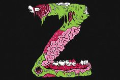 Z is for Zombie - NeatoShop