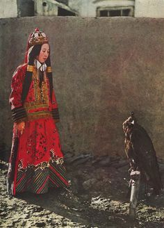 Princess Nirgidma of Torhut, Mongolia - The National Geographic Magazine - July/December 1932