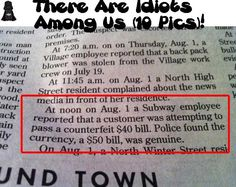 There Are Idiots Among Us (10 Pics)! This is ridiculous