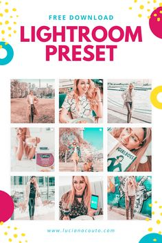 Download my Lightroom Preset for free! Plus: Tutorials about how to use it on your Instagram. #lightroom #preset #free Photoshop Actions, Lightroom Presets, Edit My Photo, Instagram Lifestyle, Instagram Marketing Tips, Photography Editing, Digital Media, My Photos, Free