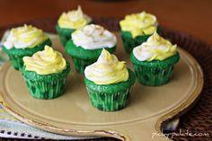 Lucky Green Velvet Baby Cakes Recipe on Yummly. @yummly #recipe