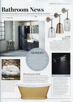 Drummonds launch new bathroom lighting collection drummonds-uk.com Essential Kitchen Bathroom Bedroom January 2016