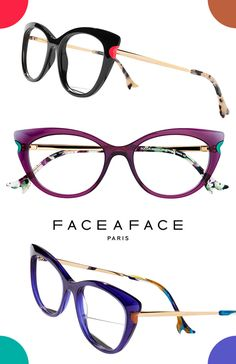 4834fb244ba Flatter Your Eyes With New Face à Face Specs