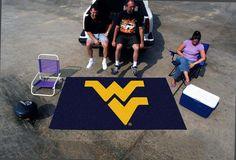 5' x 8' West Virginia Mountaineers Ulti Mat