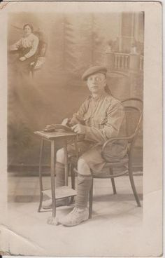 MILITARY WW1 SOLDIER SCOTS MAN