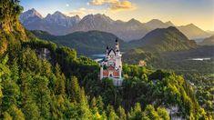 La ruta por los palacios del rey Luis II atraviesa la frondosa región que se extiende al sur de Múnich