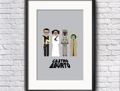 Custom Family Poster Star Wars by stitchanddesign on Etsy Create Your Own Character, Family Poster, Star Wars Characters, Colours, Stars, Prints, Illustrations, Etsy, Illustration