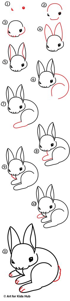 How To Draw A Realistic Bunny - Art For Kids Hub - Learn how to draw a realistic bunny! Drawing Lessons, Drawing Techniques, Drawing Tips, Drawing Sketches, Art Lessons, Painting & Drawing, Learn Drawing, Drawing Ideas, Sketching