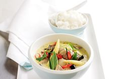 If you like it coconut creamy with a touch of spice this one is for you. Thai green chicken curry