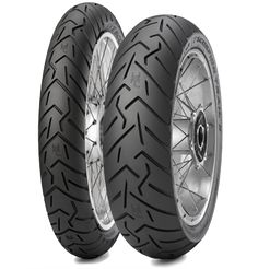 Position: Front Rim Size: 21 Tire Application: Touring Tire Size: Tire Type: Street Load Rating: 54 Speed Rating: V Tire Construction: Bias New Pirelli tire for the latest generation of enduro street riders Increased mileage, improved wet grip wi Motorbike Parts, Motorcycle Tires, Scrambler Motorcycle, Triumph Scrambler, Pirelli Tires, Trail, Tires For Sale, Super Adventure, Tubeless Tyre