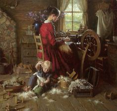 A Helping Hand by Morgan Weistling from http://www.paintingsframe.com/Morgan+Weistling-painting-c45.html