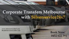 Want to Book #Corporate #Transfers in #Melbourne city then contact with silverservice24x7 #taxi #Services. We provide our services inside or outside Melbourne #City. Booking is available by call at 0452 622 391 and online booking is at Book@silverservice24x7.com For any more detail information visit our site at www.silverservice24x7.com