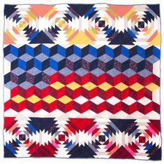 Vertigo quilt by Gina Rockenwagner